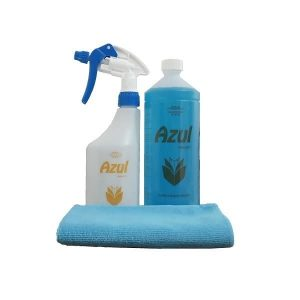 KIT 1 Azul Homcare + Pulverizador auxiliar + pano microfibras